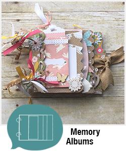 Shopping Category - Memory Albums