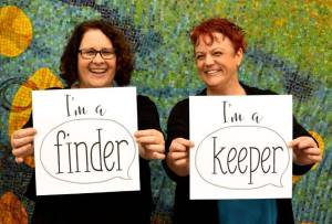 I'm a Finder & I'm a Keeper!