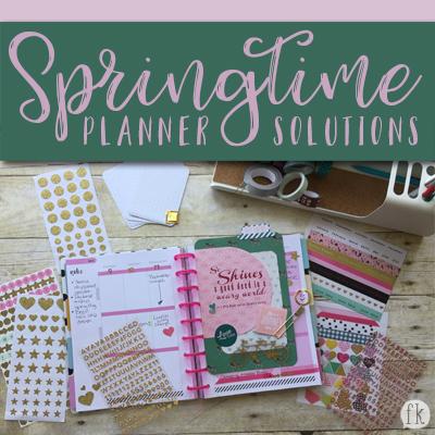 Springtime Planner Solutions
