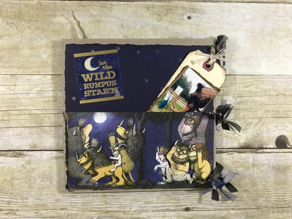 Where the Wild Things Are - Mini 8x8 Memory Album - Gallery