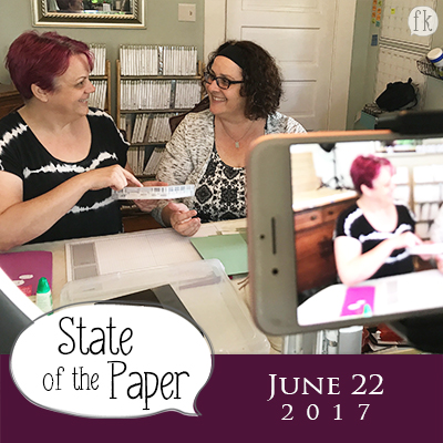 Finders Keepers' State of the Paper Address - June 22, 2017