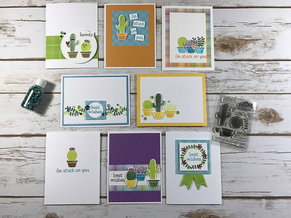 Stuck On You Card Kit - Gallery