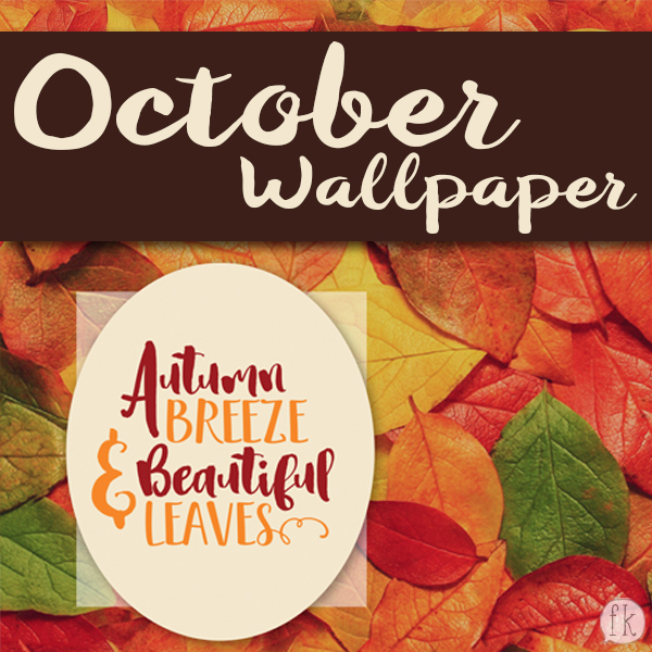 October Wallpaper: Autumn Breeze & Beautiful Leaves - Featured