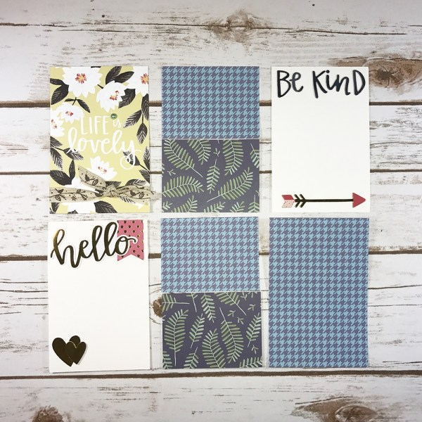 All Good Things Easy Peasy Pocket Cards - Gallery