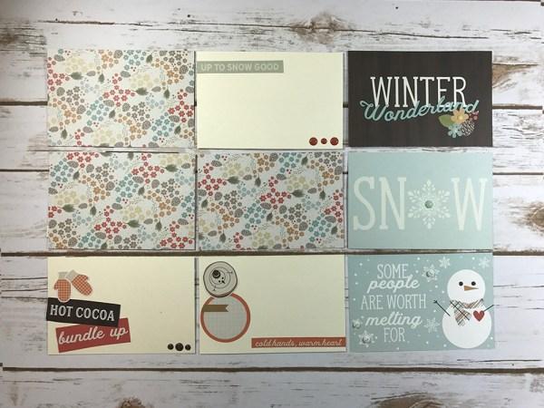 Bundle Up Easy Peasy Pocket Cards - Gallery