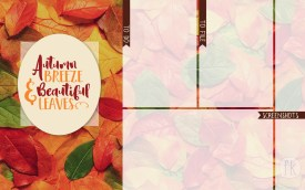 October Wallpaper: Autumn Breeze & Beautiful Leaves - No date