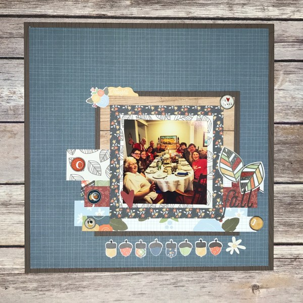 Fall in Love 12x12 Memory Layout - Gallery