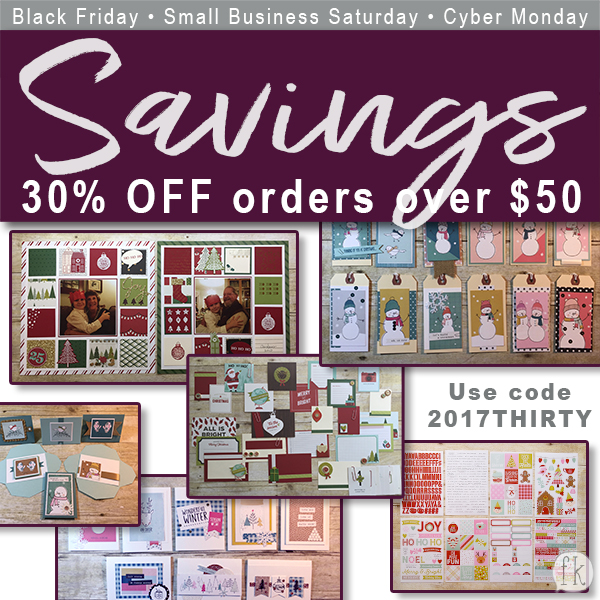 Black Friday-Small Business Sunday-Cyber Monday Sales