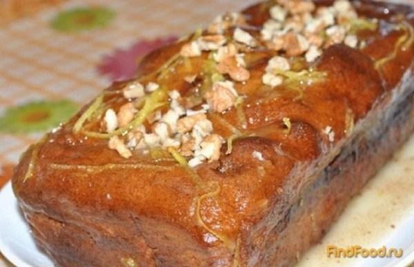 Банановый хлеб с орехами рецепт с фото