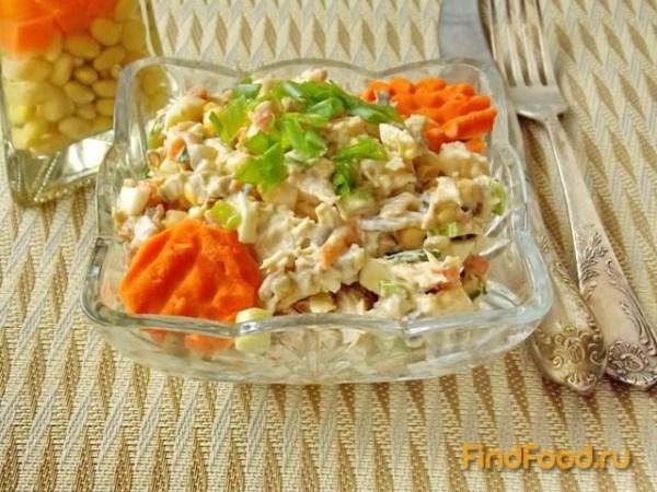 Салат из индейки рецепт с фото
