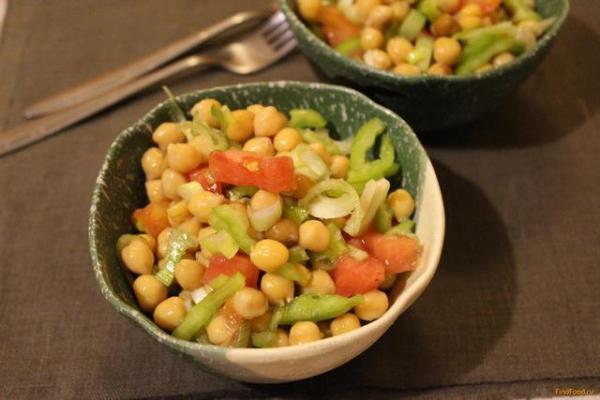 Салат из нута рецепт с фото