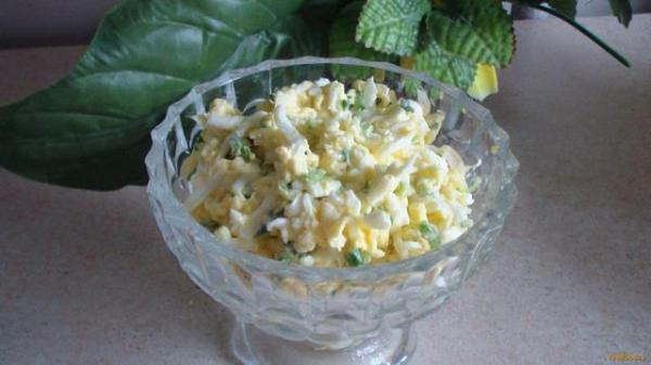 Салат из плавленного сырка рецепт с фото