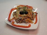 Салат с картофелем огурцом и крабовыми палочками рецепт с фото