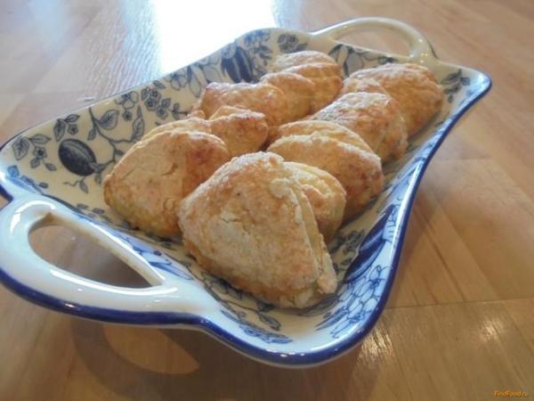 Творожное печенье из детства рецепт с фото