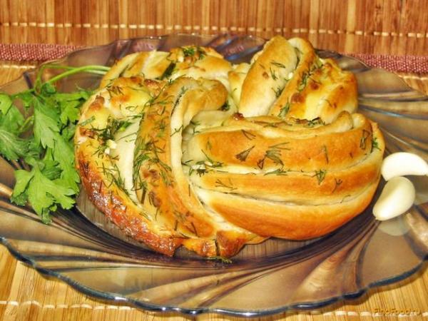 Хлеб с плавленым сыром рецепт с фото