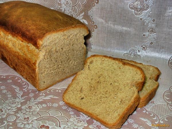 Ржаной хлеб в духовке рецепт с фото