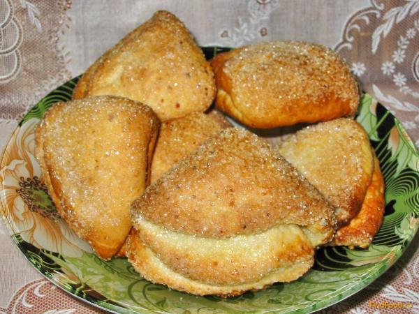 Творожное печенье Ушки рецепт с фото
