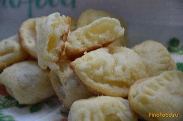 Творожное печенье Ракушки рецепт с фото