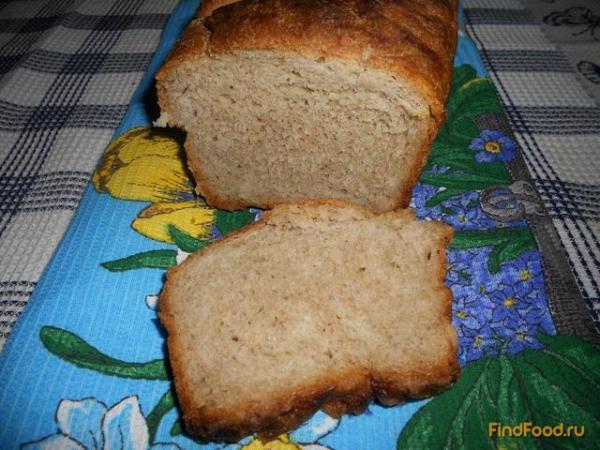 Хлеб серый рецепт с фото