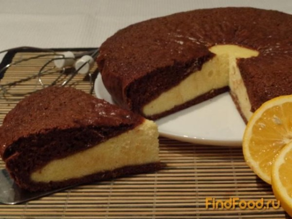 Шоколадная ватрушка рецепт с фото