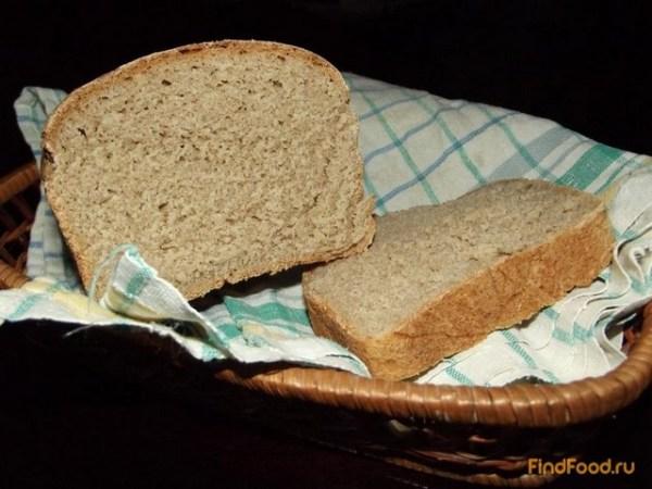 Ржано-пшеничный хлеб рецепт с фото