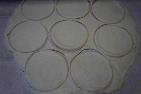 Творожное печенье Поцелуйчики рецепт с фото