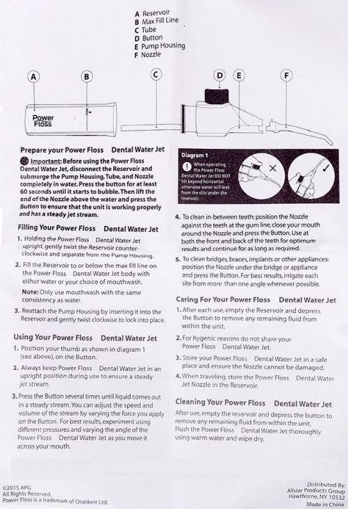 Water Flosser Cordless & Portable No Battery. Benefits