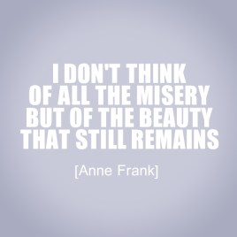 Anne Frank Beauty remains