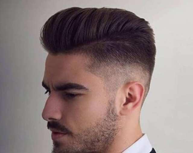 saç kesimi üzerinde tarak - Erkek Saç Modelleri 2019