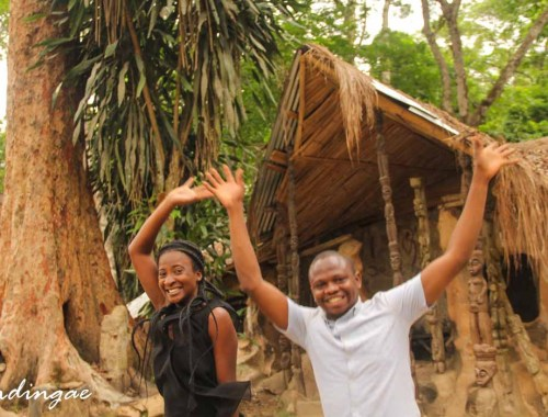Visiting a world heritage site in nigeria