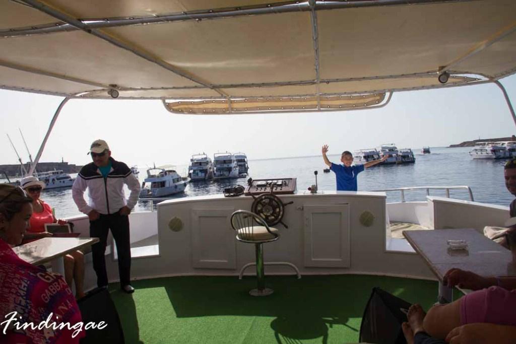 Snorkeling on Sharm-El-Sheikh