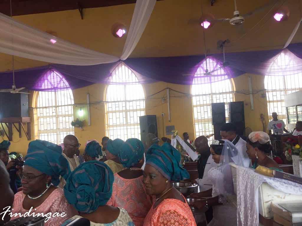 Nigerian Church Wedding