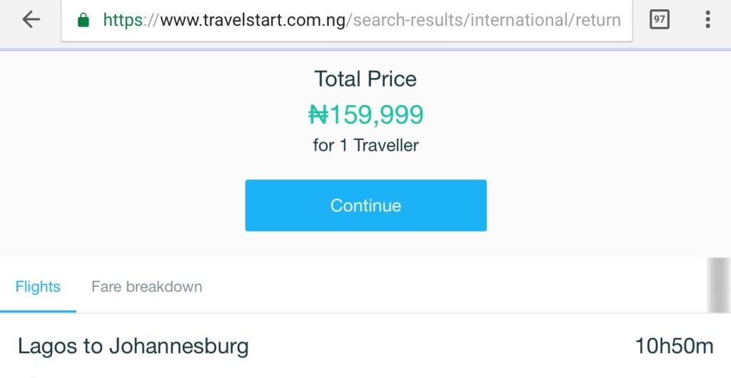 Travelstart Nigeria