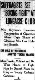 Buffalo Courier, October 28, 1911