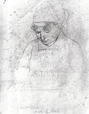 Catherine Blake, by William Blake