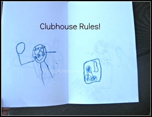 Image result for cartoon images for clubhouse rules