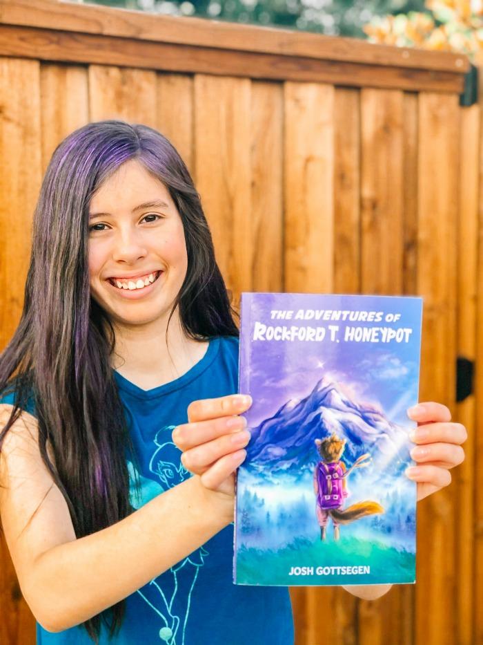 The Adventures of Rockford T. Honeypot tween chapter book