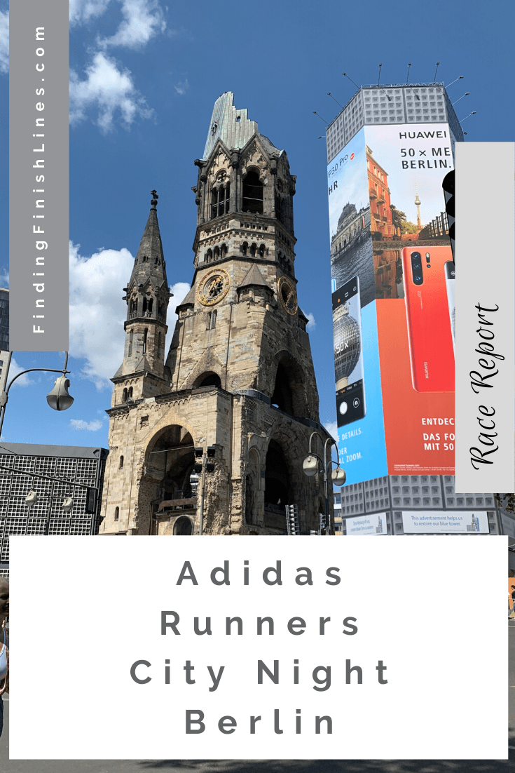 Adidas City Night Berlin race report
