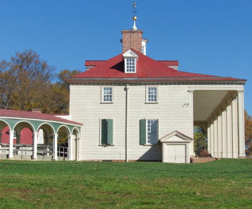 George Washington's home at Mount Vernon.