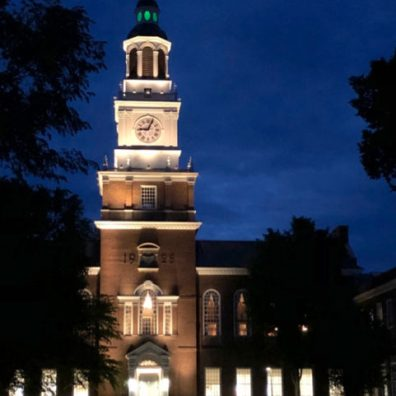 Baker Memorial Library, Dartmouth College, Hanover, New Hampshire