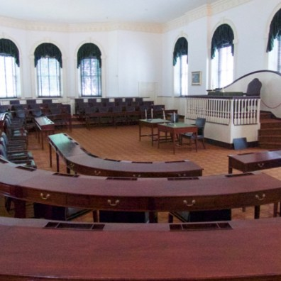 House Chamber, Congress Hall, next to Independence Hall, Philadelphia