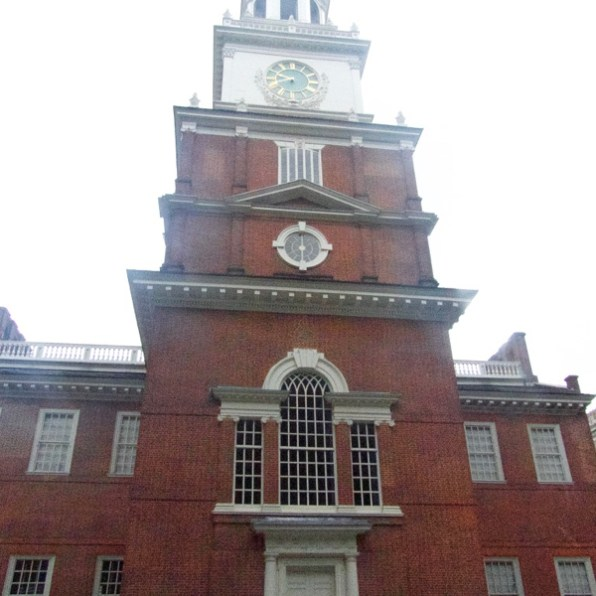 South facade, Independence Hall, Philadelphia