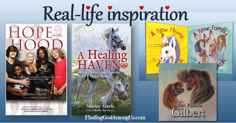 Our inspirational books showcase two specific Angels on Earth who are doing God's work.
