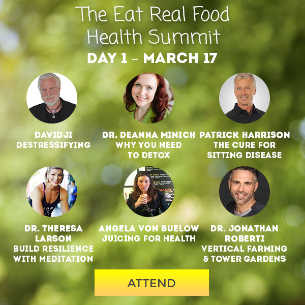 It's The Eat Real Food Health Summit!