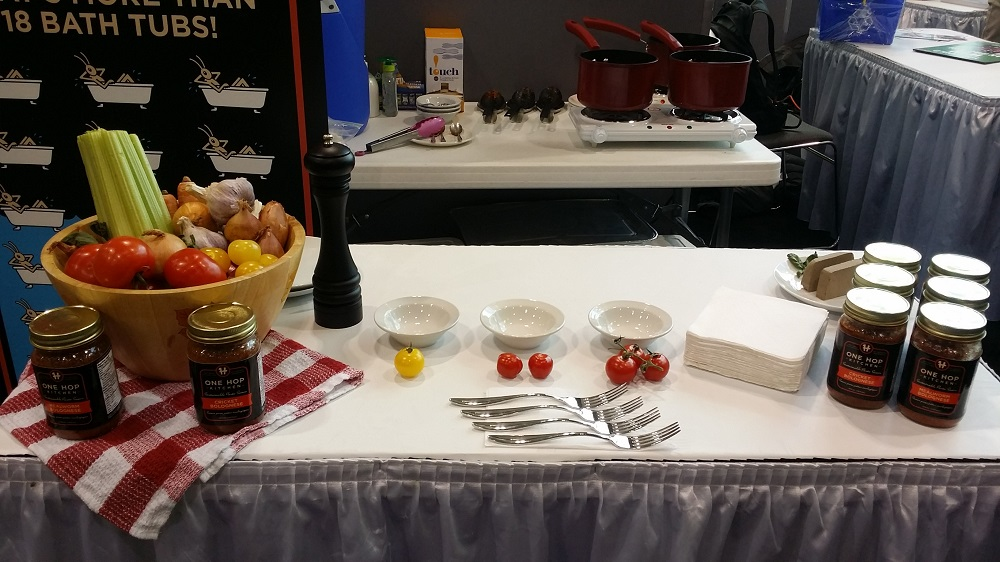 A Non-Vegan Meat Replacer Showcased at The Green Living Show