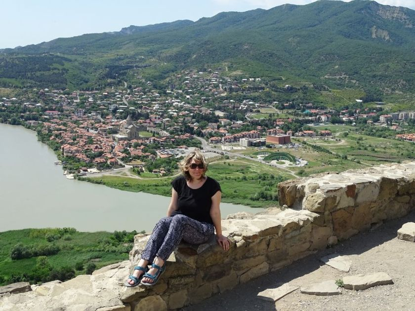 Ausblick vom Kloster Javri
