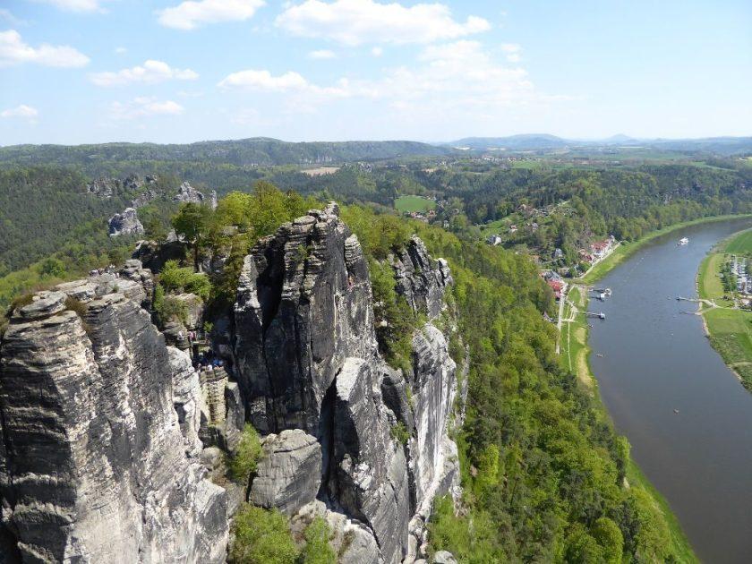 Basteiblick Elbssandsteingebirge