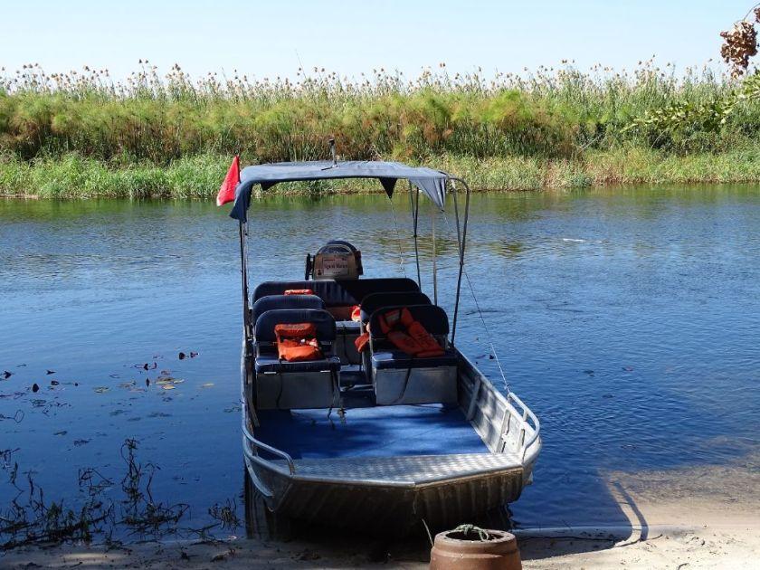 Boot Okavango Delta