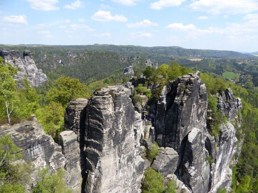 Elbsandsteingebirge Basteiblick