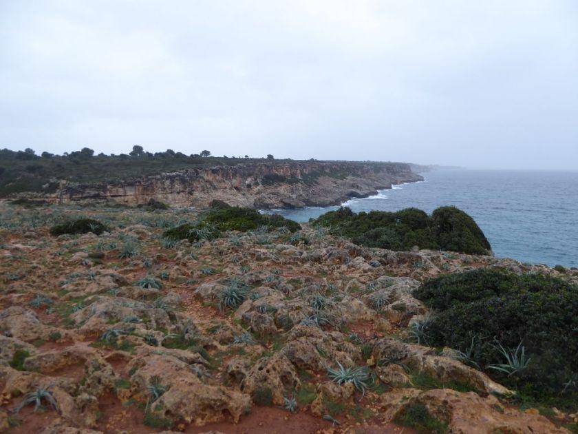 Felsenküste Wanderung Cala Romantica Cala Barques